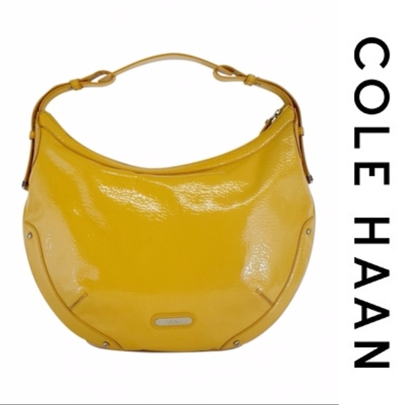 326b99e989d Cole Haan Yellow Patent Leather